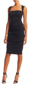 Nicole Miller short dress black Felicity Stretch on Tradesy