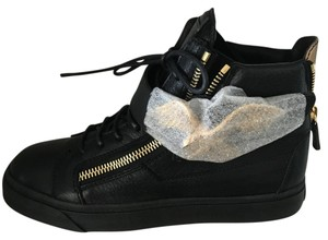 Giuseppe Zanotti black gold Athletic