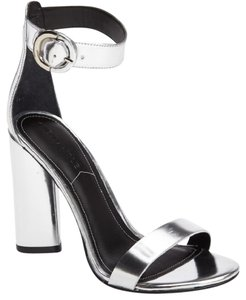 Kendall + Kylie Giselle Strappy SILVER Sandals