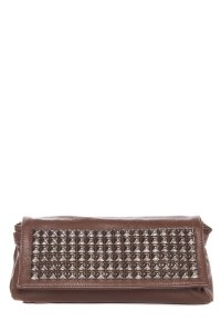 Tylie Malibu Brown Clutch