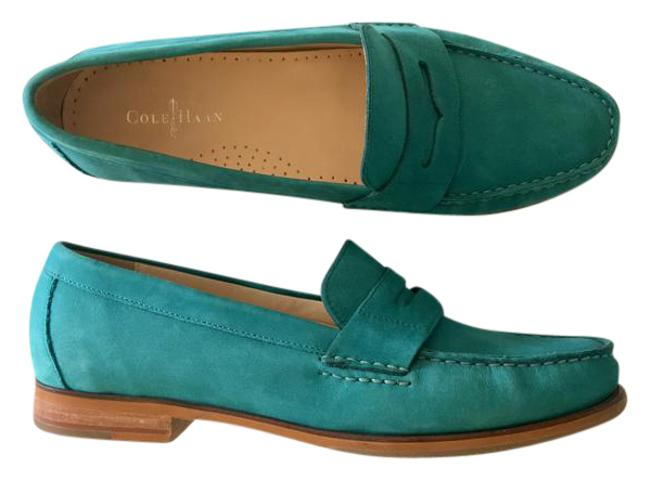 Item - Teal Loafer Flats Size US 8.5 Regular (M, B)