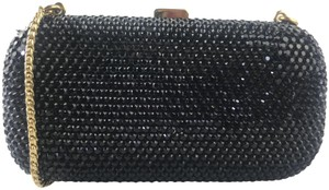 Judith Leiber Never Worn Black Clutch