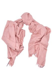 Brunello Cucinelli Brunello Cucinelli Cotton and cashmere Pink scarf