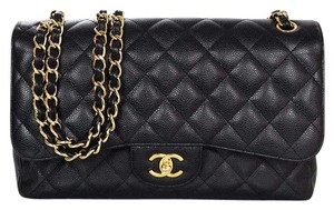 Chanel Double Flap Quilted Shoulder Bag