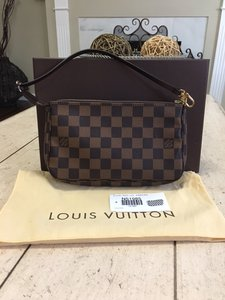 Louis Vuitton Like new! Pochette Damier Ebene! Comes with dustbag box tags!