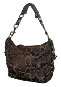 Coach Lots Of Detail Satchel in Brown