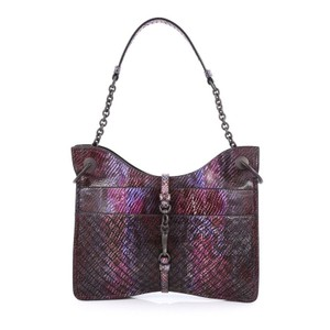 Bottega Veneta Beverly Python Shoulder Bag