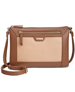 Tignanello One Handbag Brown Tan Cross Body Bag