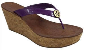 Tory Burch Thong Purple Sandals
