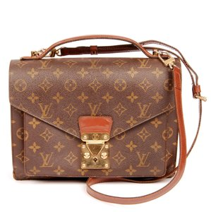 Louis Vuitton Monceau Satchels Handbags Cross Body Bag
