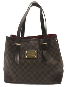 Louis Vuitton Hampstead Gm Lv Hampstead Lv Tote in Brown