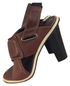 Tibi Brown Sandals