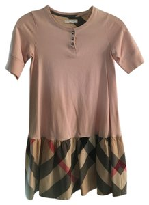Burberry short dress Ice Pink and Plaid on Tradesy