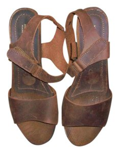 Mila Paoli Leather brown Sandals