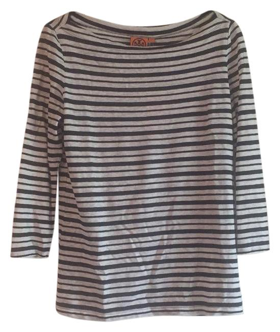 Preload https://item5.tradesy.com/images/tory-burch-navy-and-cream-stripes-lori-tee-shirt-size-6-s-20707164-0-1.jpg?width=400&height=650
