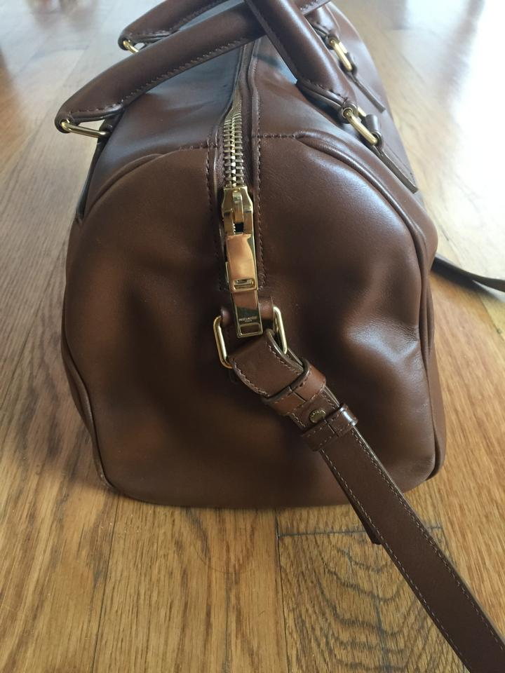 6 Brown Tote Hour Leather Laurent Saint Duffle ISqwEnz