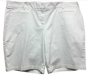 Lands' End Casual Dress Shorts White