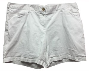 Lands' End Casual Shorts White