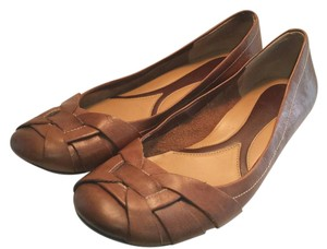Naturalizer 9.5 Leather Brown Flats