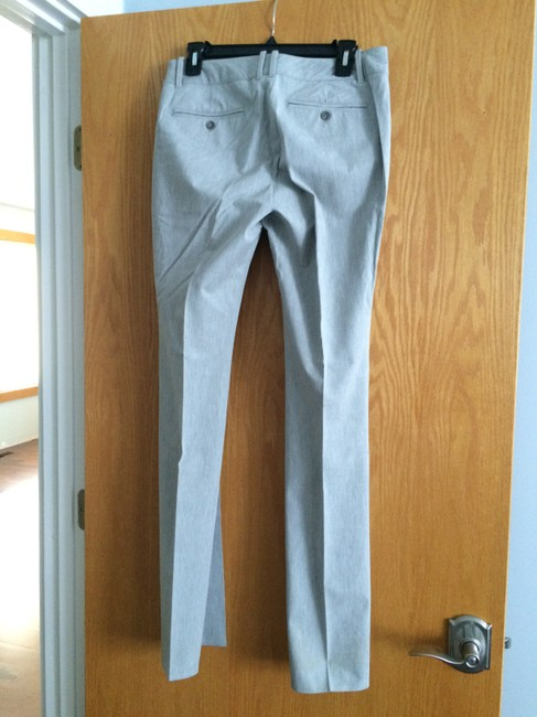 Banana Republic Straight Pants Gray Image 1