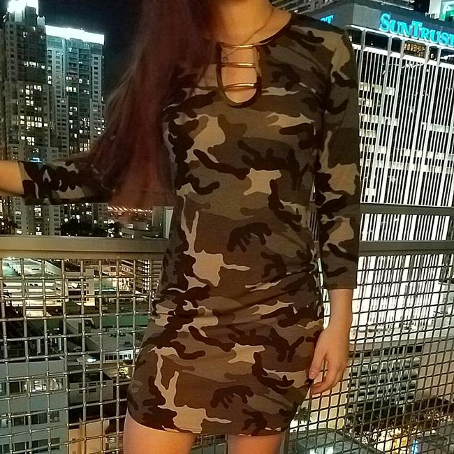 Other short dress Army Print on Tradesy Image 2