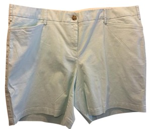 Lands' End Shorts Light Aqua Blue
