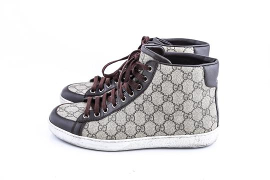 Gucci * Supreme Canvas Sneakers Shoes Image 2