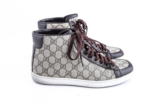 Gucci * Supreme Canvas Sneakers Shoes Image 3