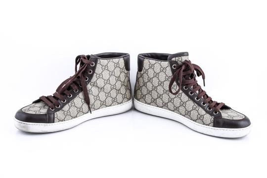 Gucci * Supreme Canvas Sneakers Shoes Image 5