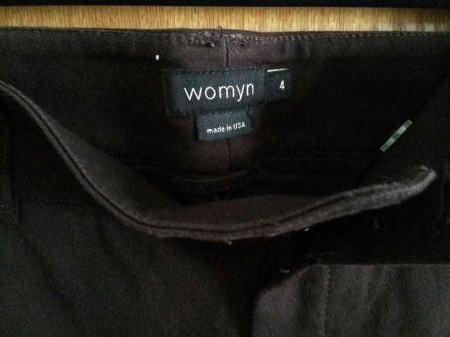 Womyn Dark Nice Feel Capris Brown Image 2