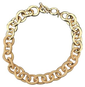 Banana Republic Banana Republic Textured Chain Link Necklace