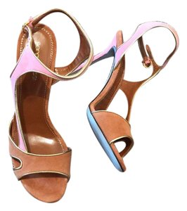 Sergio Rossi Color-blocking Summer Multi color Sandals