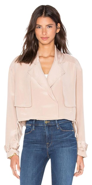 Tibi Helmut Lang Alexander Wang The Row Vince Tory Burch Pink Jacket Image 0