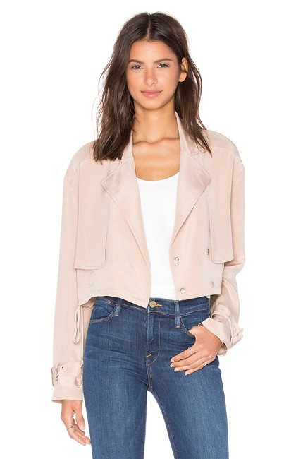 Tibi Helmut Lang Alexander Wang The Row Vince Tory Burch Pink Jacket Image 1