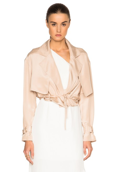 Tibi Helmut Lang Alexander Wang The Row Vince Tory Burch Pink Jacket Image 3