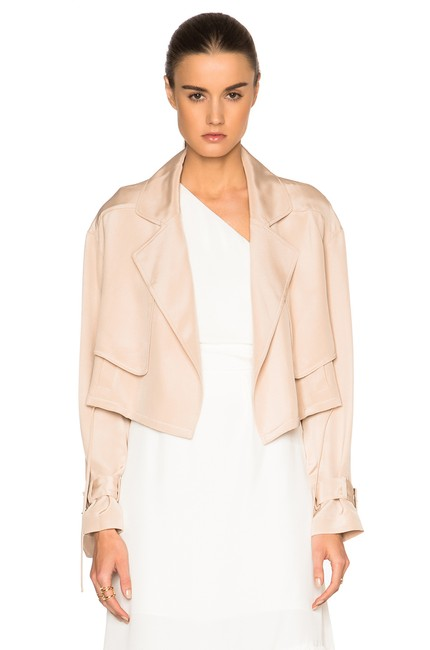 Tibi Helmut Lang Alexander Wang The Row Vince Tory Burch Pink Jacket Image 4
