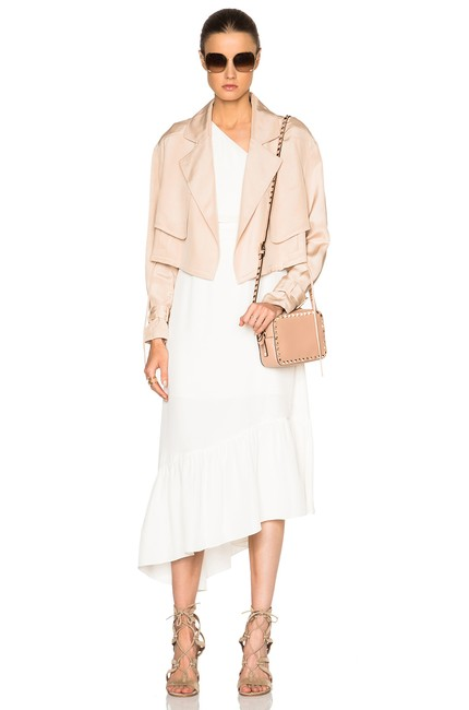Tibi Helmut Lang Alexander Wang The Row Vince Tory Burch Pink Jacket Image 5