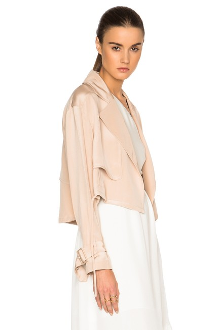 Tibi Helmut Lang Alexander Wang The Row Vince Tory Burch Pink Jacket Image 6