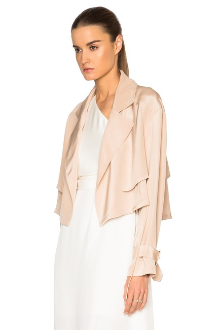 Tibi Helmut Lang Alexander Wang The Row Vince Tory Burch Pink Jacket Image 7