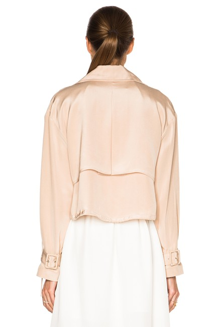 Tibi Helmut Lang Alexander Wang The Row Vince Tory Burch Pink Jacket Image 8