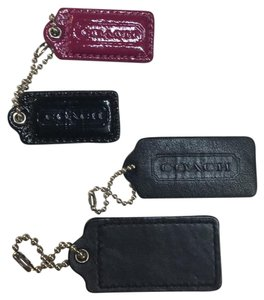 Coach Collection of Four Coach Hang Tags