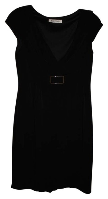 White House | Black Market Polyester Buckle Dress