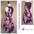 shakuhachi short dress Pink Floral Printed Fit And Flare on Tradesy Image 4