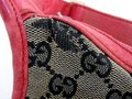 Gucci Large Print Reds Excellent Condition Great For Everyday Perfect Pop Of Color Hobo Bag Image 3
