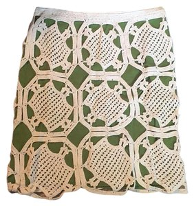 Tory Burch Skirt green and white