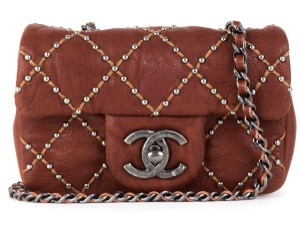 Chanel Satchel in rust brown