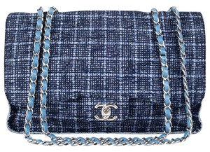 Chanel Satchel in navy