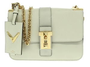 Valentino Cross Body Messenger Gold Shoulder Bag