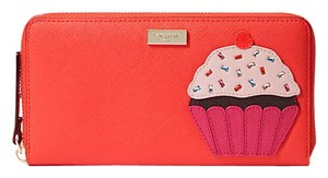 Kate Spade Kate Spade take the cake Zip around Neda wallet NWT