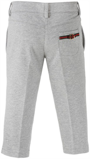 Preload https://img-static.tradesy.com/item/20707883/gucci-gray-new-kids-pants-wgrg-web-metal-interlocking-g-10-281752-groomsman-gift-0-0-540-540.jpg